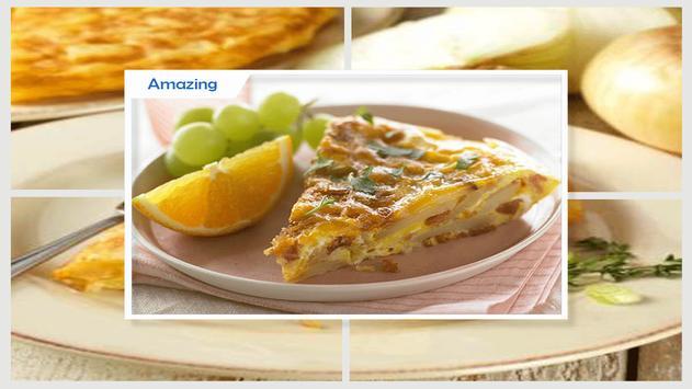 Simple Tortilla Potato Omelet recipe screenshot 2