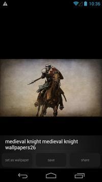 Medieval Knight Wallpapers apk screenshot