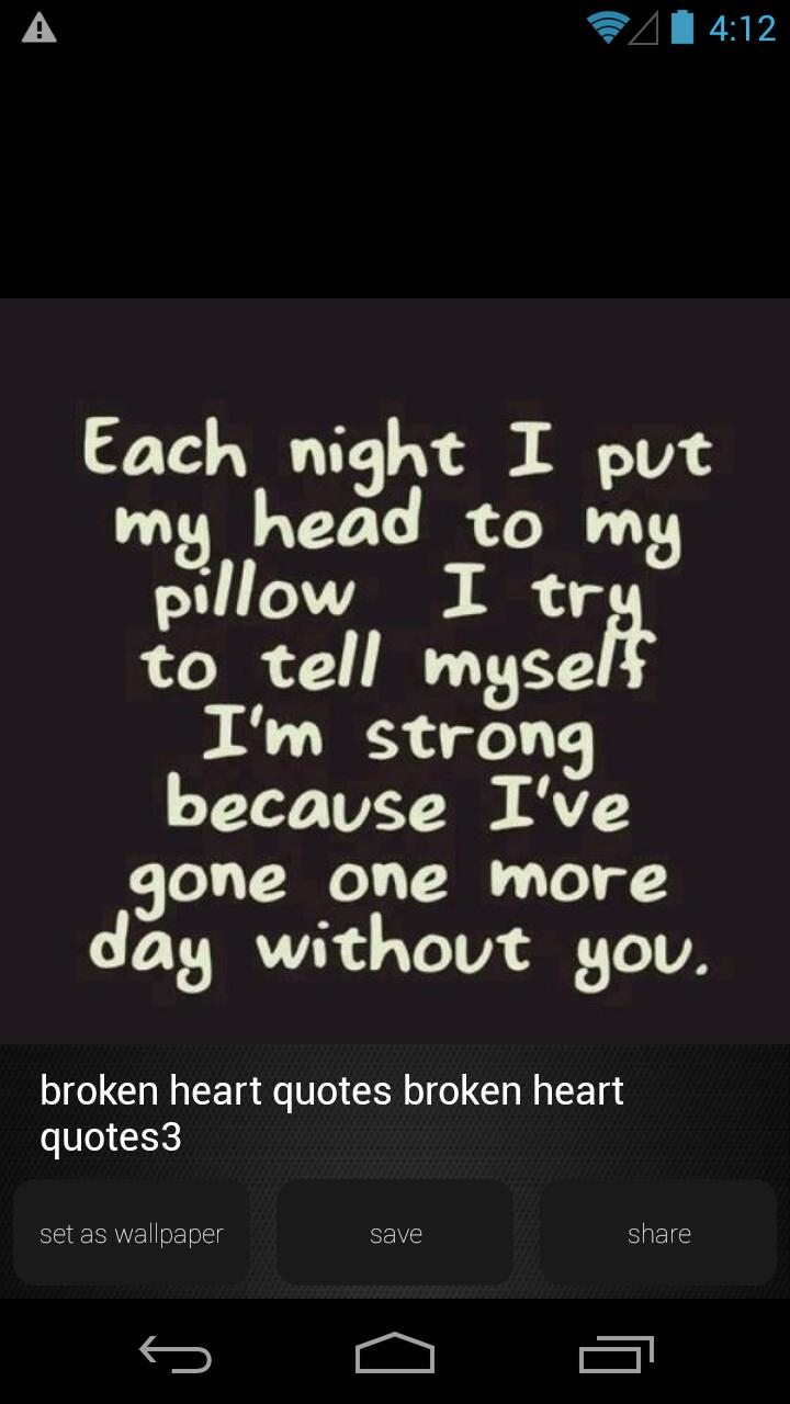 Broken Heart Quote Wallpapers For Android Apk Download