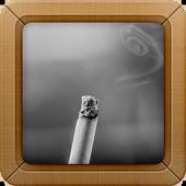 Cigarette Wallpaper background icon