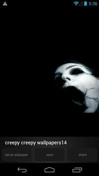 Creepy Horror Wallpapers apk screenshot