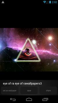 Eye of Ra Illuminati Wallpaper apk screenshot
