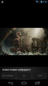 Kraken Monster Wallpapers apk screenshot