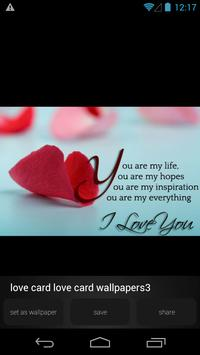 Love Card Wallpapers Picture apk screenshot