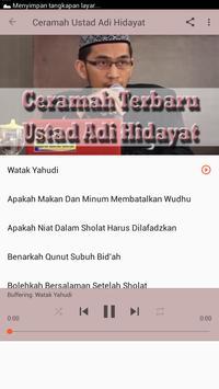 Ceramah Ustad Adi Hidayat apk screenshot