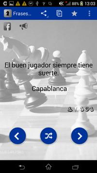 Frases de Ajedrez poster