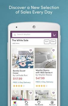Wayfair - Shop All Things Home apk screenshot