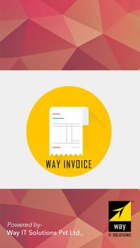 Way Invoice poster