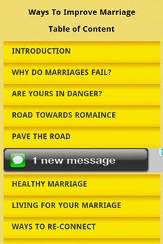 Ways to Improve Marriage poster