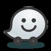 Waze - خرائط و GPS وتنبيهات ازدحام وملاحة مباشرة أيقونة