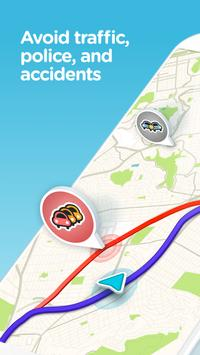 Waze - GPS, Maps, Traffic Alerts & Live Navigation poster