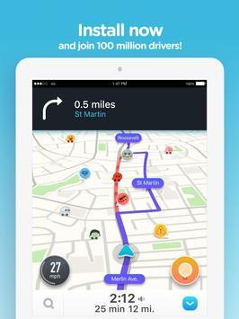 Waze - GPS, 地图 & 交通社区 截图 14