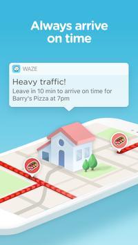 Waze - خرائط و GPS وتنبيهات ازدحام وملاحة مباشرة apk تصوير الشاشة