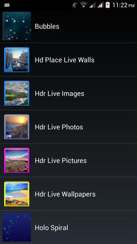 Hdr Live Pictures apk screenshot
