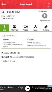 WazPappin- Events Finder apk screenshot