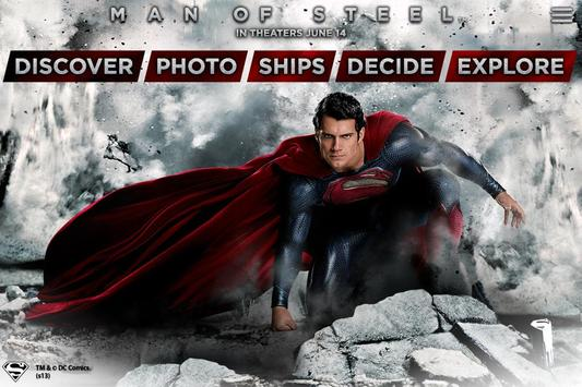 Man of Steel Experience Canada poster