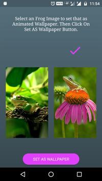 Funny Frog Live Wallpaper poster