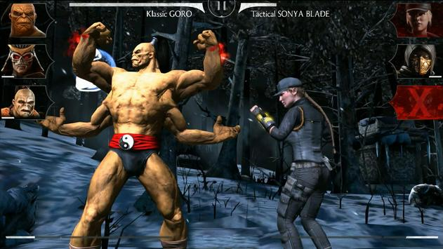 MORTAL KOMBAT X APK-Bildschirmaufnahme