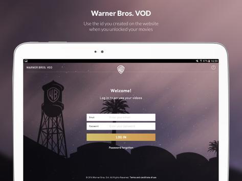 Warner Bros. VOD poster