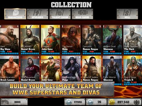WWE Immortals apk screenshot