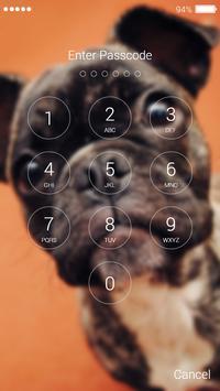 Bulldog Lock Screen screenshot 4