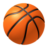 Basketball shooting icon