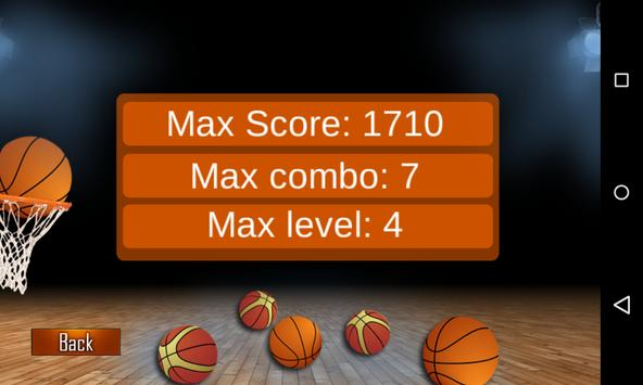 Basketball shooting apk screenshot