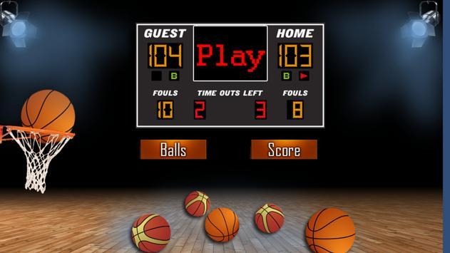 Basketball Throws screenshot 2
