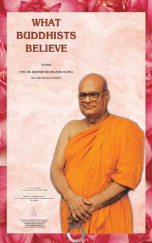 What Buddhists Believe poster