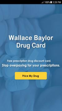 Baylor Drug Card poster