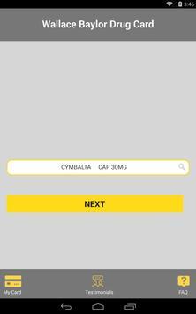 Baylor Drug Card apk screenshot