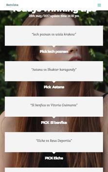 Betvista Live screenshot 1