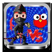 ninja vs birds: spring battle icon