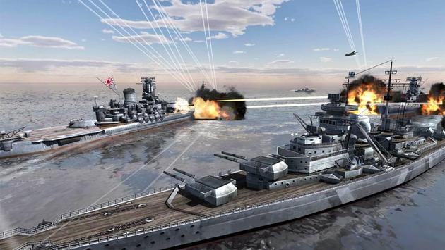 World Warships Combat-poster