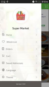 Super Market - WooCommerce screenshot 1