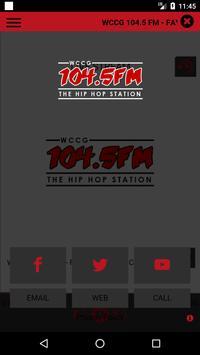 WCCG 104.5 FM screenshot 1