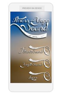 Fitness & Yoga Sound poster