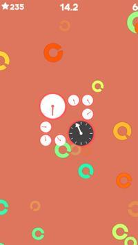 Gun Clock - 2D Shooting Clock game apk screenshot