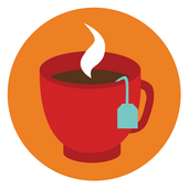 Tea and coffee icon