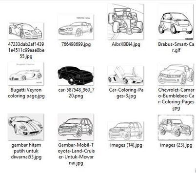 8100 Koleksi Gambar Mobil Hitam Putih Gratis Terbaru