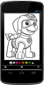 Coloring Masha for Android apk screenshot