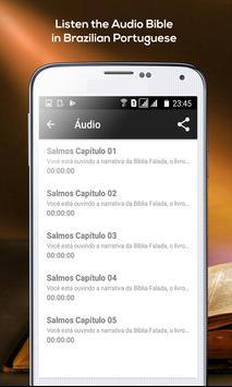Psalms - Audio Bible Brazilian Portuguese screenshot 9