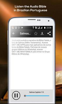 Psalms - Audio Bible Brazilian Portuguese screenshot 3