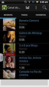Canal do Riso Vídeos de Humor apk screenshot