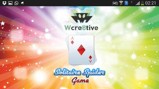 Wcre8tive Solitaire Spider poster
