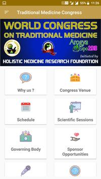 Traditional Medicine Congress poster