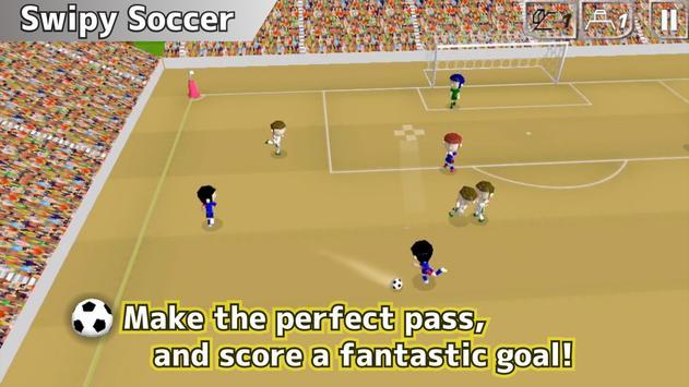 Swipy Soccer capture d'écran 6