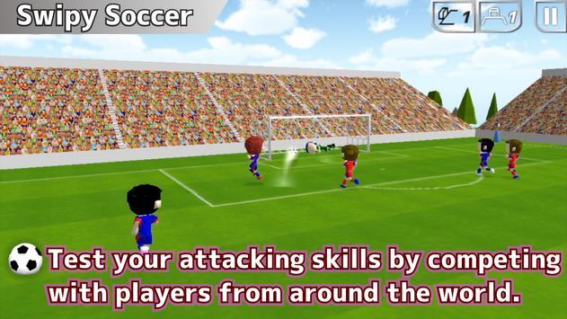 Swipy Soccer capture d'écran 8