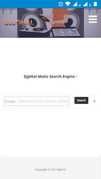 DjJohal - music search poster