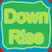 Down rise icon